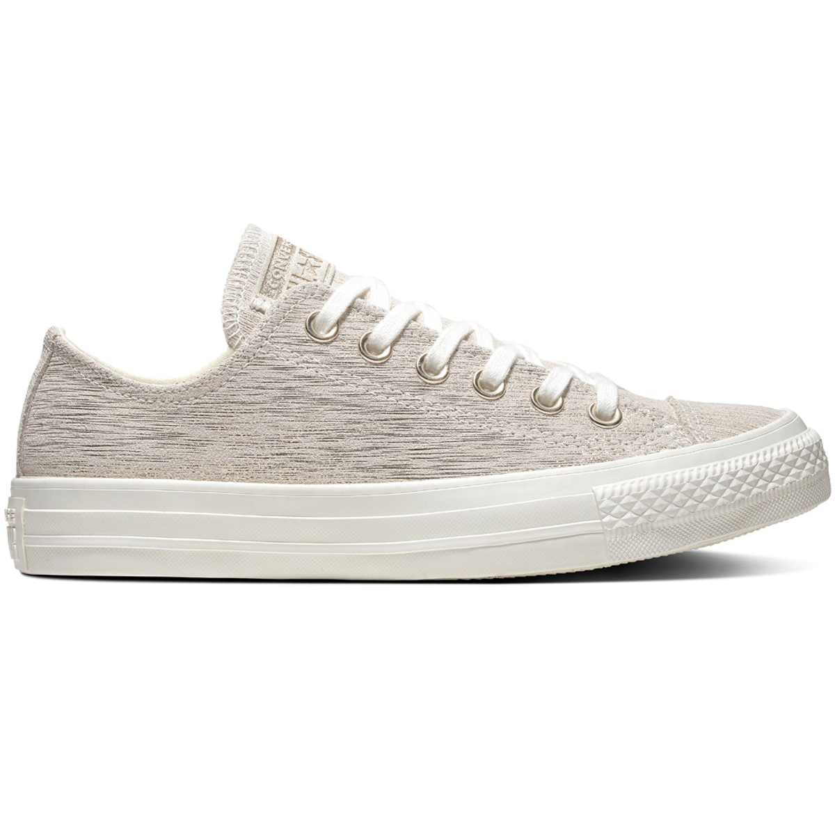 Converse Star CT AS OX Chuck Taylor All Star Converse beige gold Glitzer Effekt 9891b6