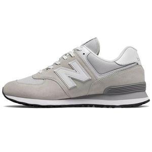 New Balance ML574EGW Herren Sneaker 633531-60-3 hellgrau  – Bild 2
