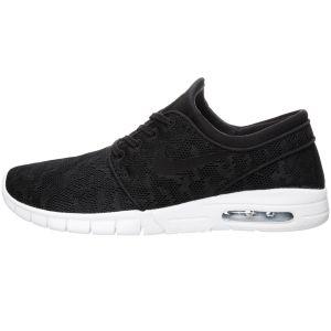 Nike Stefan Janoski Max Sneaker Herren schwarz weiß – Bild 2