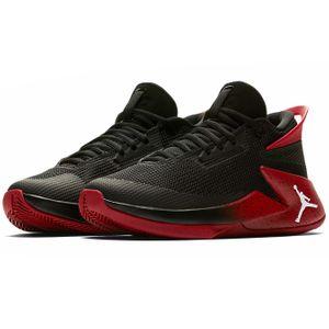 Jordan Fly Lockdown BG Kinder Basketballschuhe schwarz rot AO1547 023 – Bild 3