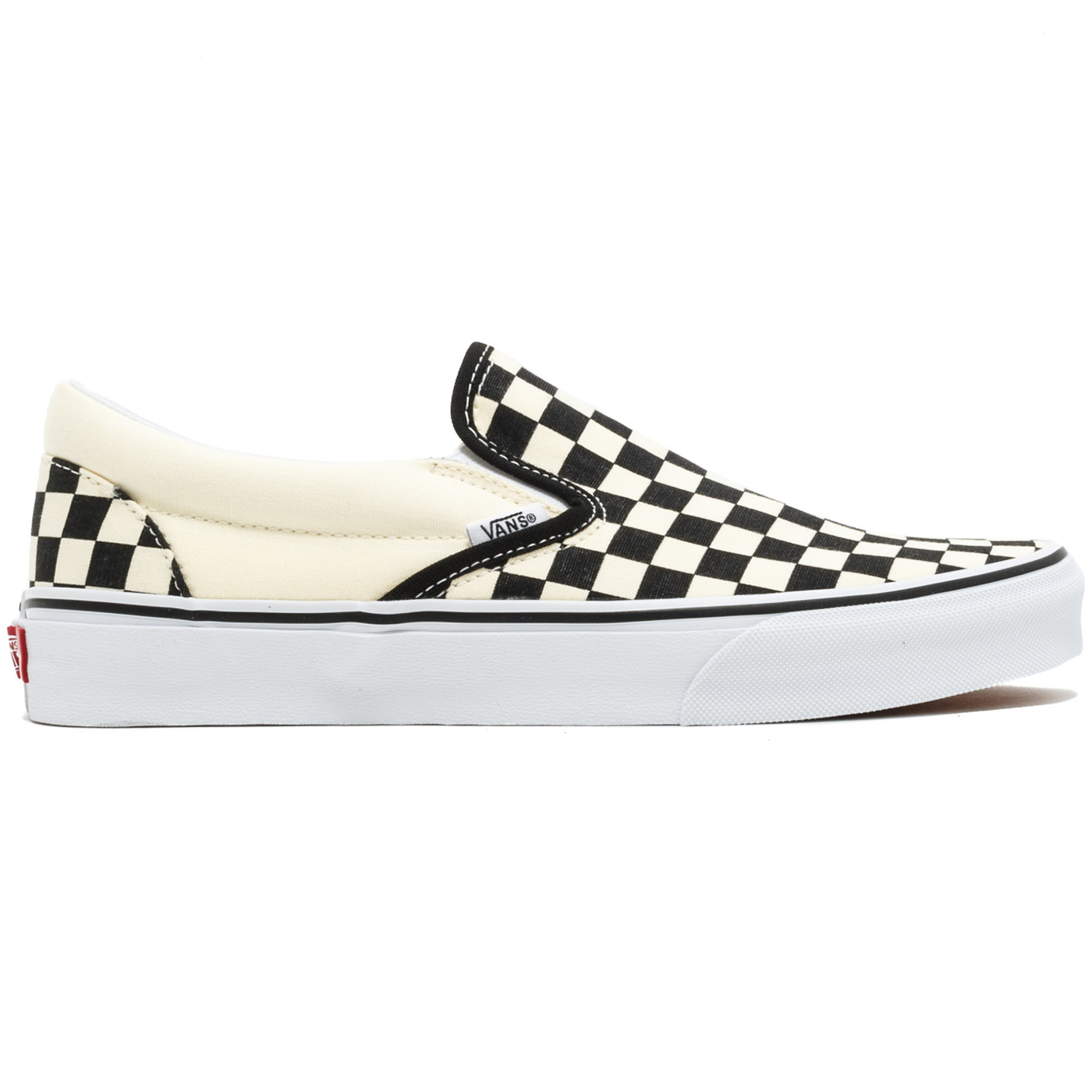 Vans Classic Slip-On Checkerboard Slipper beige schwarz VN000EYEBWW 2af8f2cf4