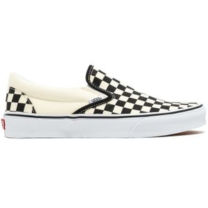Vans Classic Slip-On Checkerboard Slipper beige schwarz VN000EYEBWW – Bild 1