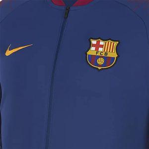 Nike Men FC Barcelona Jacket Herren blau rot 894361 456 – Bild 3