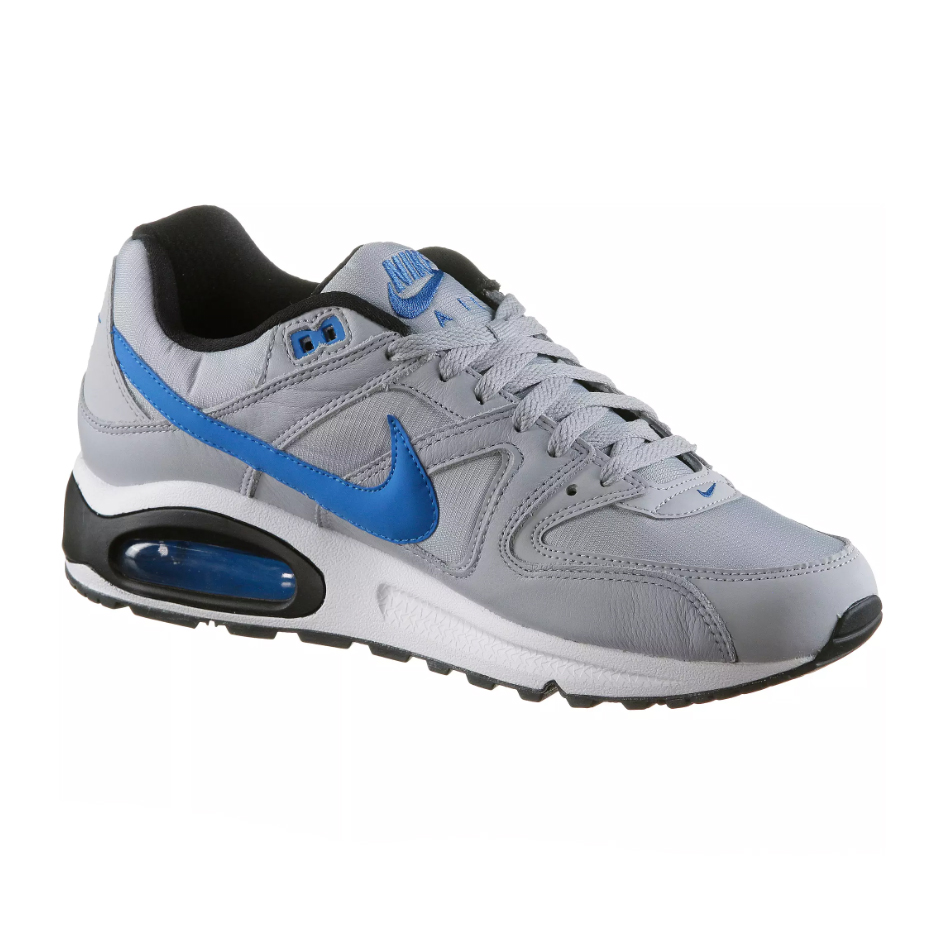 nike air max command herren sneaker grau blau 629993 036. Black Bedroom Furniture Sets. Home Design Ideas