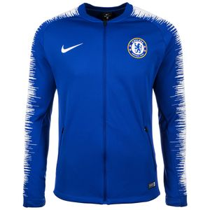 Nike Men FC Chelsea London Jacket Herren blau weiß AA3330 495 – Bild 1