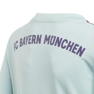 adidas FC Bayern München Away Auswärtstrikot mint 18/19 Kinder CF5396 – Bild 4