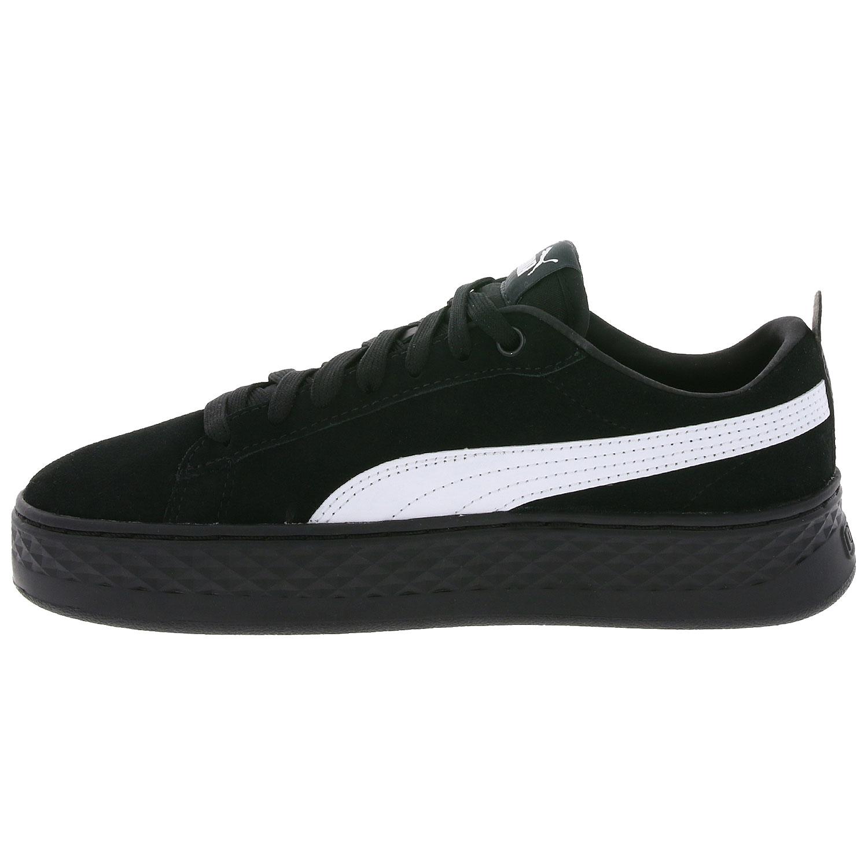 b384a9d0e20513 Puma Smash Platform SD Damen Sneaker schwarz weiß 366488 02 – Bild 2