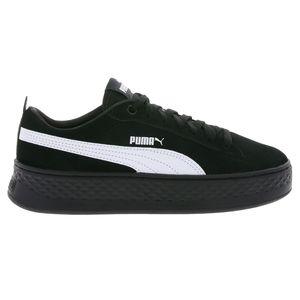 Puma Smash Platform SD Damen Sneaker schwarz weiß 366488 02 – Bild 1