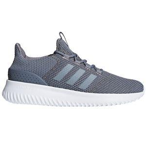 adidas neo Cloudfoam Ultimate Herren Sneaker grau weiß B43843 – Bild 1