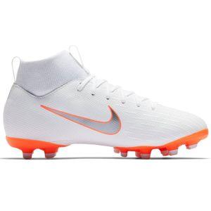 Nike JR Superfly 6 Academy GS MG Fussballschuhe weiß orange AH7337 107 – Bild 1