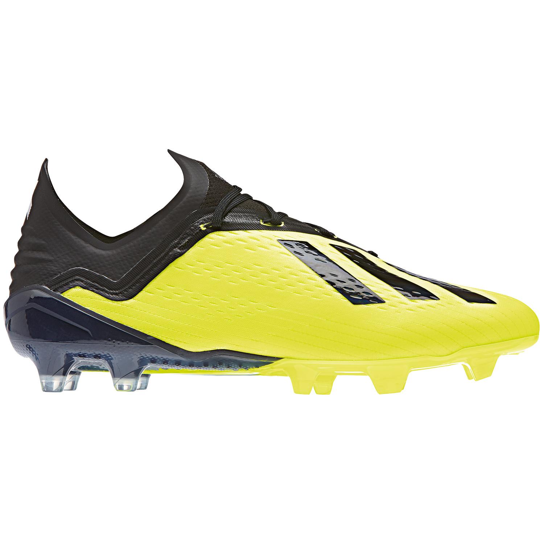 on sale feadf d0409 adidas X 18.1 FG Herren Fußballschuhe neongelb schwarz DB2251