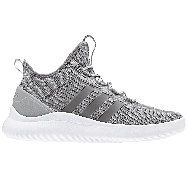 adidas neo Cloudfoam Ultimate BBall Herren Sneaker grau weiß B43877