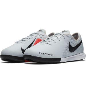 Nike JR Phantom VSN Academy IC Fußballschuhe Halle grau rot AR4345 060 – Bild 3