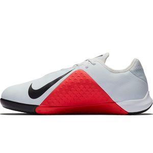 Nike JR Phantom VSN Academy IC Fußballschuhe Halle grau rot AR4345 060 – Bild 2