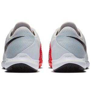 Nike JR Phantom VSN Academy IC Fußballschuhe Halle grau rot AR4345 060 – Bild 4