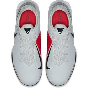 Nike JR Phantom VSN Academy IC Fußballschuhe Halle grau rot AR4345 060 – Bild 5