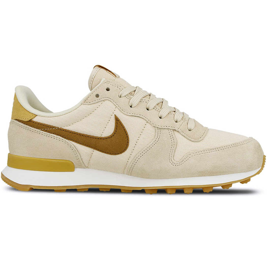 Nike WMNS Internationalist Damen Sneaker beige gold 828407 209