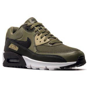 Nike Air Max 90 Essential Herren Sneaker oliv schwarz AJ1285 201 – Bild 3