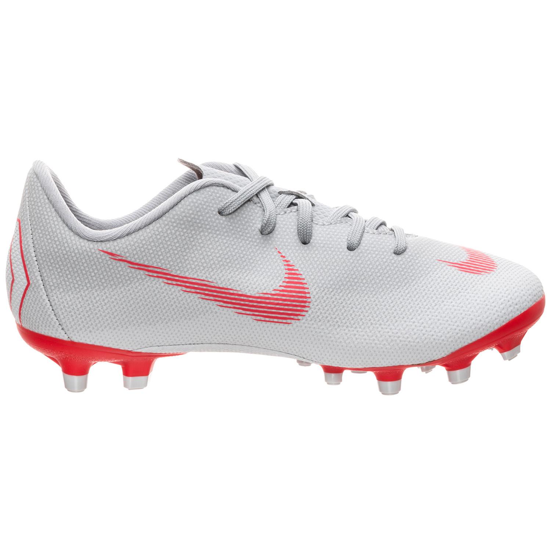 Nike JR Vapor 12 Academy PS FG/MG Kinder Fußballschuhe grau AH7349 060