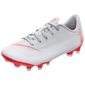 Nike JR Vapor 12 Academy PS FG/MG Kinder Fußballschuhe grau AH7349 060 – Bild 3