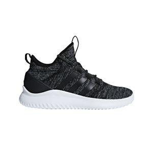 adidas neo Cloudfoam Ultimate BBall Herren Sneaker schwarz weiß DA9653