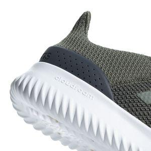 adidas neo Cloudfoam Ultimate Herren Sneaker grün weiß B43844 – Bild 5