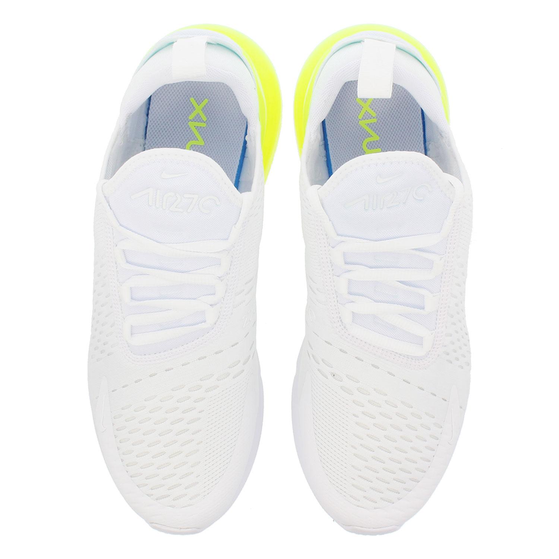 outlet store 659bc 0f2c2 Nike Air Max 270 Herren Sneaker weiß gelb AH8050 104 – Bild 4