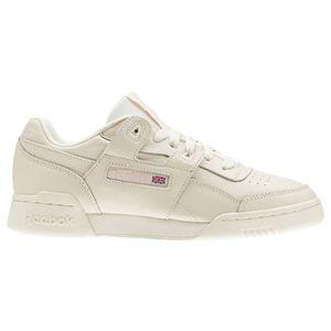 Reebok Workout Lo Plus Damen Sneaker creme Leder CN4610