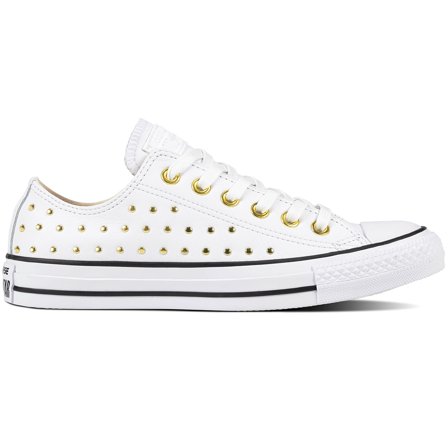 2a03a4f563919 Converse CT AS OX Chuck Taylor All Star weiß gold 561684C