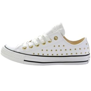 Converse CT AS OX Chuck Taylor All Star weiß gold 561684C – Bild 2