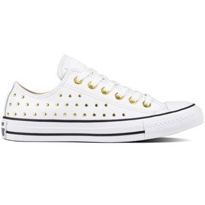 Converse CT AS OX Chuck Taylor All Star weiß gold 561684C – Bild 1