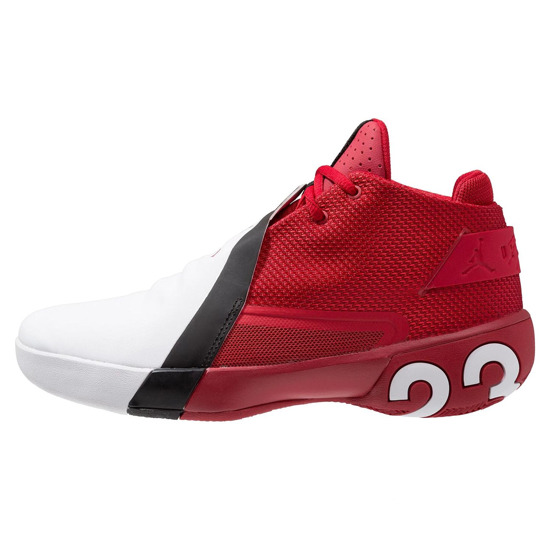 newest f3765 7be73 Nike Jordan Ultra Fly 3 Basketball Sneaker rot weiß AR0044 601 – Bild 2
