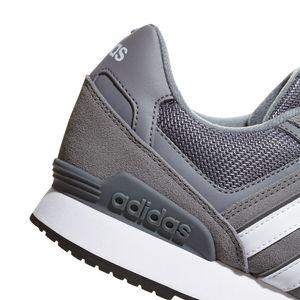 adidas neo 10K Herren Sneaker grau weiß BB7378 – Bild 3