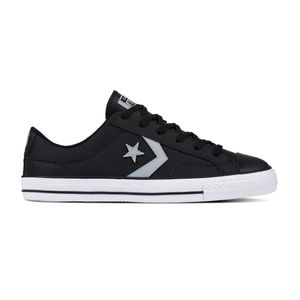 Converse Star Player OX Herren Leder Sneaker schwarz weiß 161596C – Bild 1