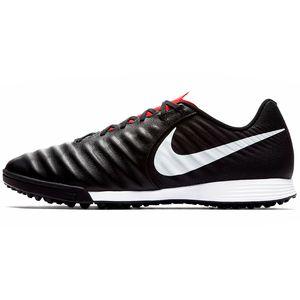 Nike Legend 7 Academy TF Herren Noppenschuhe schwarz weiß AH7243 006 – Bild 2