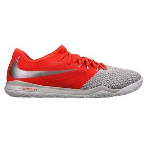 Nike Zoom Hypervenom 3 Pro IC Fußballschuhe Halle grau rot AJ3804 060 – Bild 1