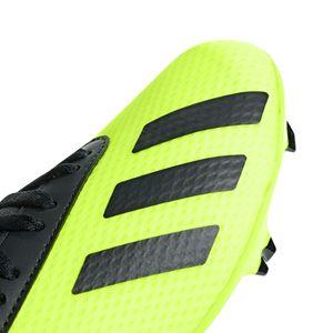 adidas X 18.3 FG J Kinder Fußballschuhe Nockenschuhe gelb DB2418 – Bild 5