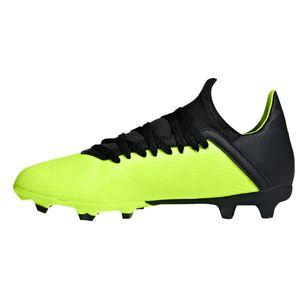adidas X 18.3 FG J Kinder Fußballschuhe Nockenschuhe gelb DB2418 – Bild 2