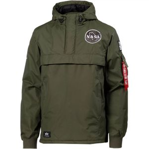 Alpha Industries NASA Anorak Herrenjacke dark green 188133/257  – Bild 1