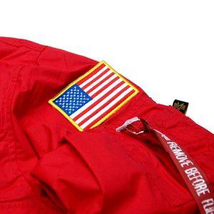 Alpha Industries NASA Anorak Herrenjacke speed red 188133/328 – Bild 2
