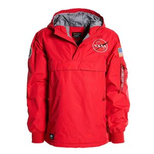 Alpha Industries NASA Anorak Herrenjacke speed red 188133/328 – Bild 1