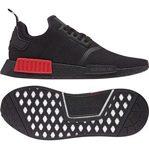 adidas Originals NMD_R1 Herren Sneaker schwarz rot B37618 – Bild 2