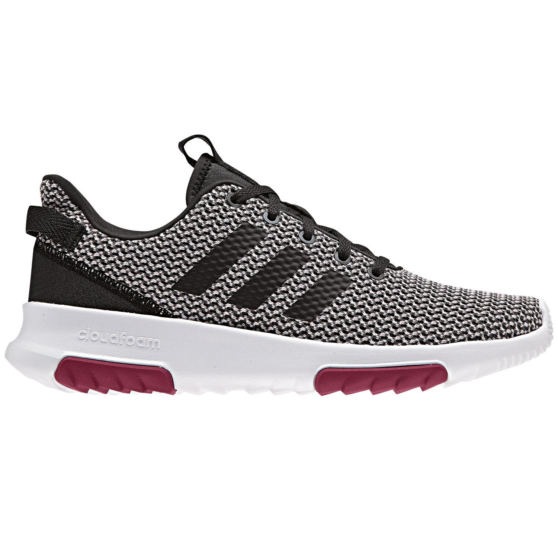 adidas neo CF Racer TR Damen Sneaker grau weiß lila B42170