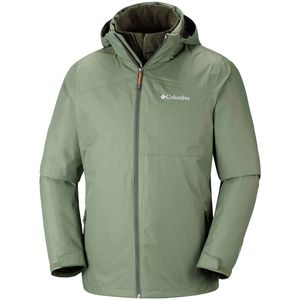 Columbia Aravis Explorer Interchange Herren Outdoorjacke olive – Bild 1