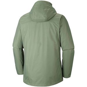 Columbia Aravis Explorer Interchange Herren Outdoorjacke olive – Bild 2
