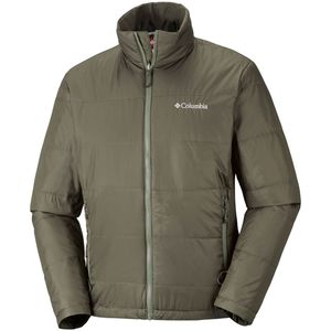 Columbia Aravis Explorer Interchange Herren Outdoorjacke olive – Bild 3