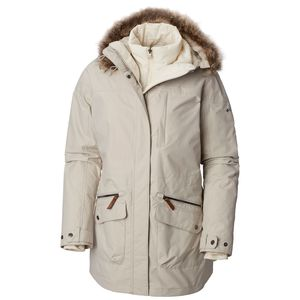 Columbia Carson Pass IC Damen Outdoorjacke hellgrau WL0004-021 – Bild 1