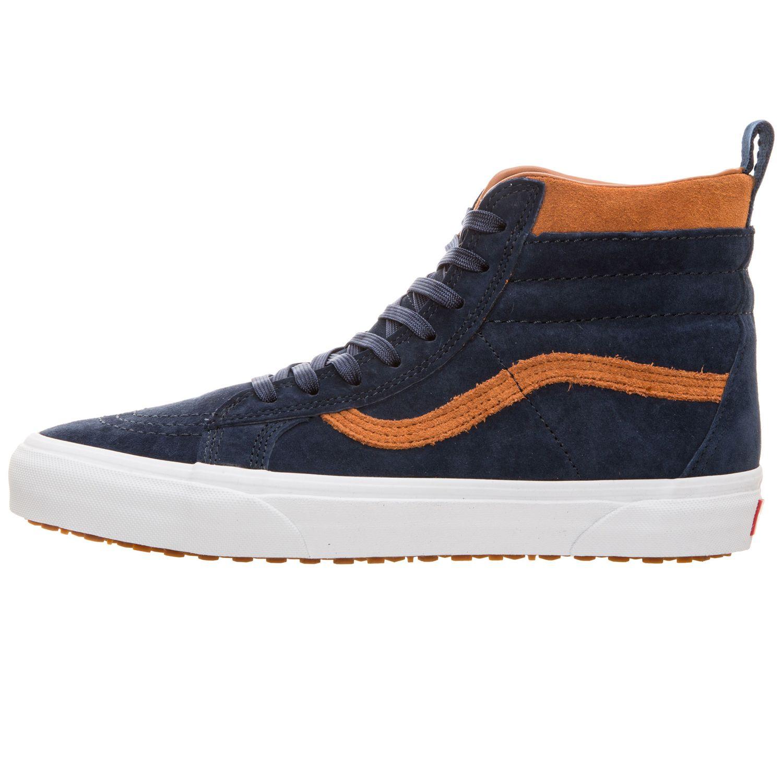Vans SK8-Hi MTE High-Top Herren Sneaker blau braun VN0A33TXUCB