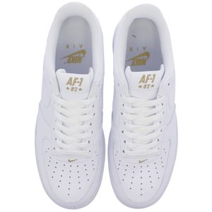 Nike Air Force 1 '07 Sneaker weiß gold AA4083 102 – Bild 3
