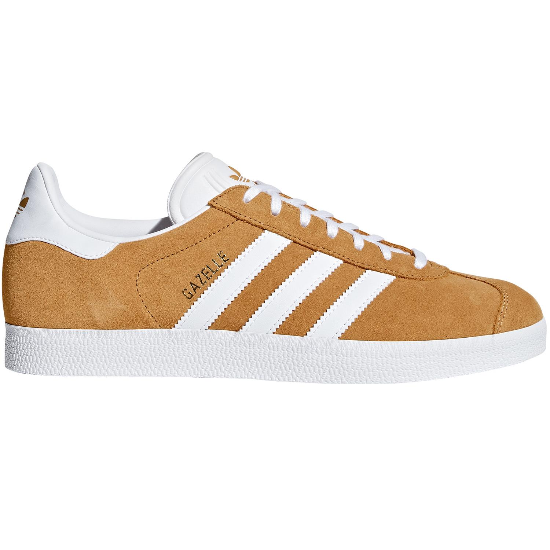 c957bf73dd97ce adidas Originals Gazelle Herren Sneaker braun weiß B41653